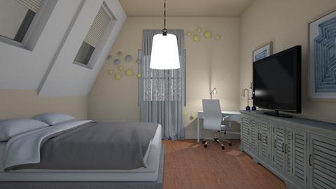 idk_dot room - Bedroom  - by greekgirl37