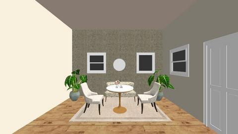 casa improvisada - Country - Dining room - by esmenette145