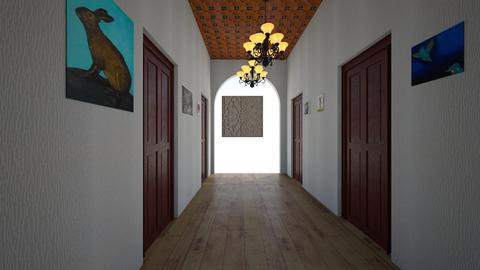 hallway 2 - by Nobody Imparticular
