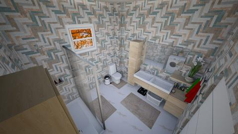 family home 49 - Modern - Bathroom  - by Stavroula Chatzina