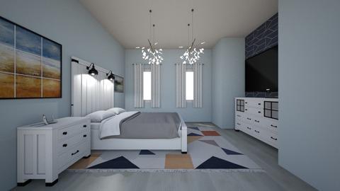 Bright Bedroom - Modern - Bedroom  - by cbruno23