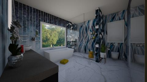 Modern glam - Bathroom  - by flacazarataca_1