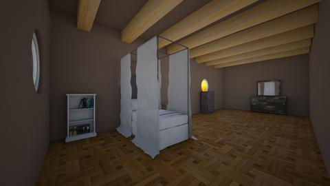 Attic bedroom - Modern - Bedroom  - by RainbowCupcakes