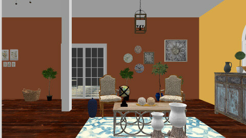 tuscanydine - Dining room - by Corrina Louise
