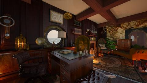 Captains Deck - Office - by NiceGoodNoodle