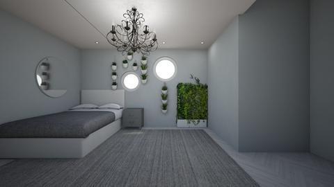 modern garden room - Modern - Bedroom  - by Annabeth_Chase7