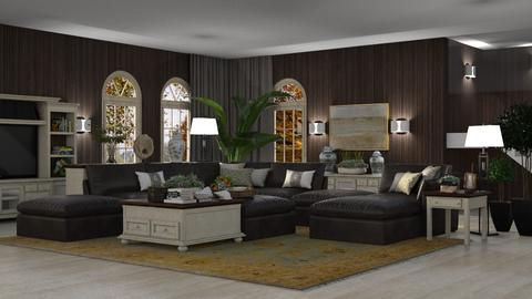 Modern Boiserie Living - Modern - Living room  - by Claudia Correia