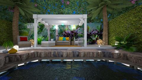 Tropical - Garden  - by rosanebpf