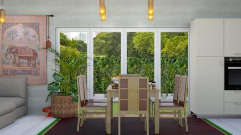 dining room - Dining room  - by malithu damsath