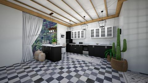 Kitchen 1 - Modern - Kitchen  - by evabarrett