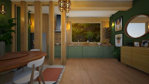 apt - Living room - by diegobbf