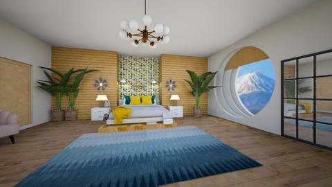 Feng shui bedroom II - Bedroom  - by quesal0l2347