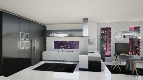 new kitchen - Dining room - by Kim Youn ji