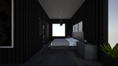 Apt bedroom  - by saratevdoska