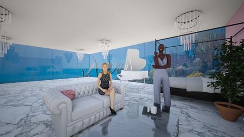 Bedroom Underwater - Glamour - Bedroom - by mistycopeland