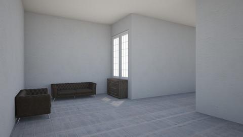 industrial  - Living room - by heyimkaity