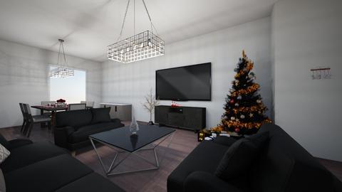Christmas - Vintage - Living room  - by Marita02