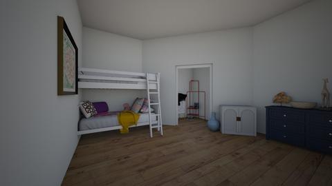 Girls bedroom - Bedroom  - by potatocreator
