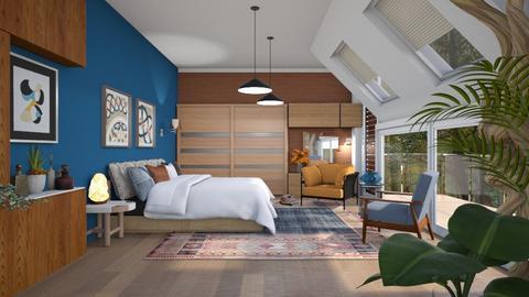 Attic bed outdoor - Bedroom  - by milyca8