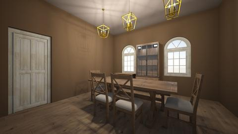 Dining22 - Rustic - Dining room  - by hjdawson625
