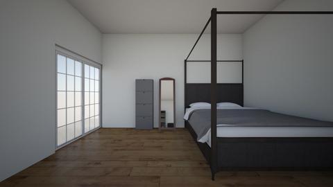Bedroom2 - Modern - Bedroom  - by kayleechehorsky