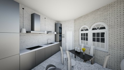 my kitchen - Modern - Kitchen - by ahuvsters