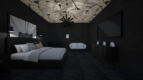 Black Shack - Modern - Bedroom  - by rmoral9662