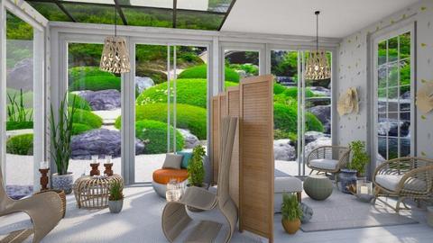 Reaxing sun room - Garden  - by Moonpearl