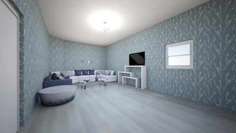 blueberry  - Living room  - by arleene_1234