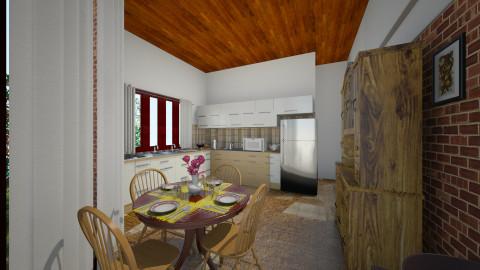 2015 N COZINHA 1 - Classic - Kitchen  - by rmichellucci