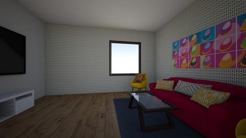 no problem - Retro - Living room - by princessofpuppets