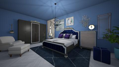 Royal Slumber - Glamour - Bedroom  - by Alima Aydin
