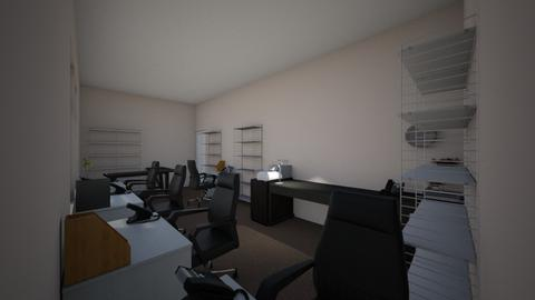 New Office - Minimal - Office  - by calla792