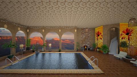 pool - by Christine Keller