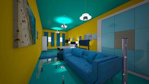 9ii - Bedroom  - by maliamAIA