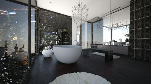 City Views - Bathroom  - by RedVelvet21