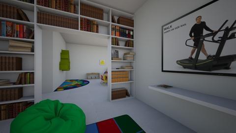 Area de estudio - Kids room  - by clasesytutorias
