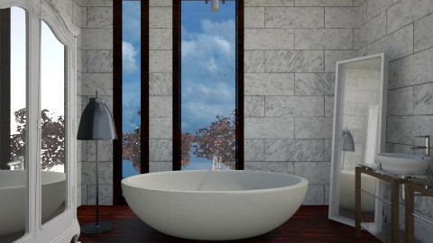 Stoney Bath - Modern - Bathroom  - by 3rdfloor