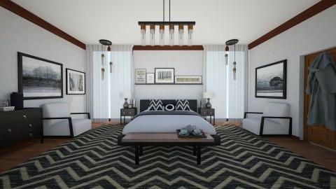 Bedroom - Modern - Bedroom  - by camilla_saurus