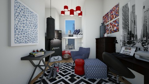 Endurance Dorm - Bedroom - by CreativeCE