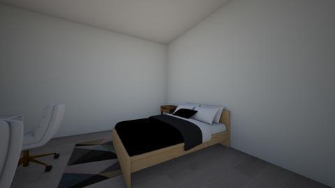 kamer veranderen 1 - Modern - Bedroom  - by lisaflorant