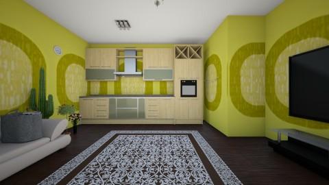 virtuve - Minimal - Kitchen  - by Eva1001002