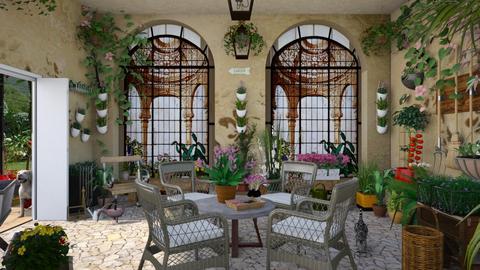 Design 124  Conservatoire in Provence - Garden  - by Daisy320
