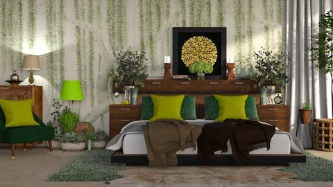 Green shades - by ZsuzsannaCs