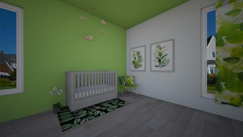 Nature themed Nursery - Modern - Kids room  - by crazyA
