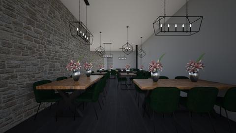 Hotel LISA - Dining room - by Marlisa Jansen