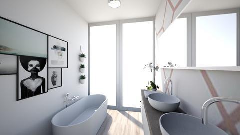 Clean Bathroom - Minimal - Bathroom  - by AKeeleysHeal