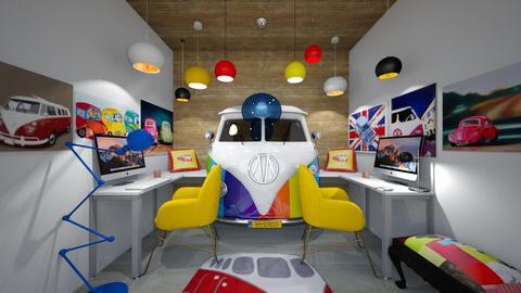 Camper Van Rental Agency - Office  - by CassW