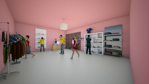 Clothing store - Classic - by lilach26
