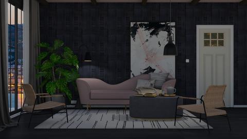 Modern Blush - Modern - Living room  - by HenkRetro1960